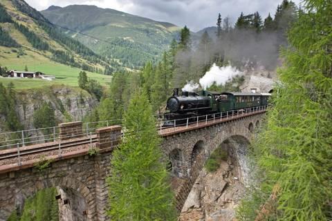 Steam-Train Rides - Rhaetian Railway RhB