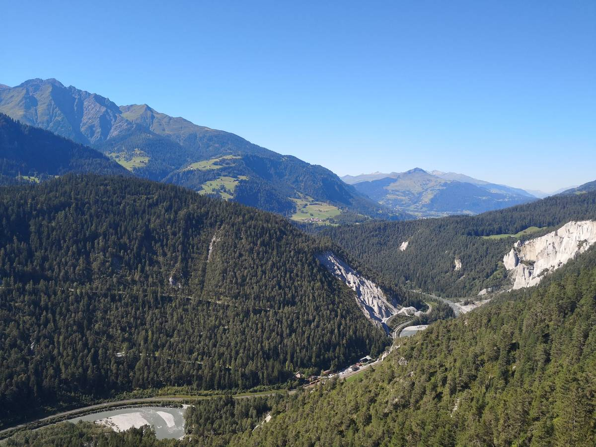 "View from the ""Il Spir"" platform"