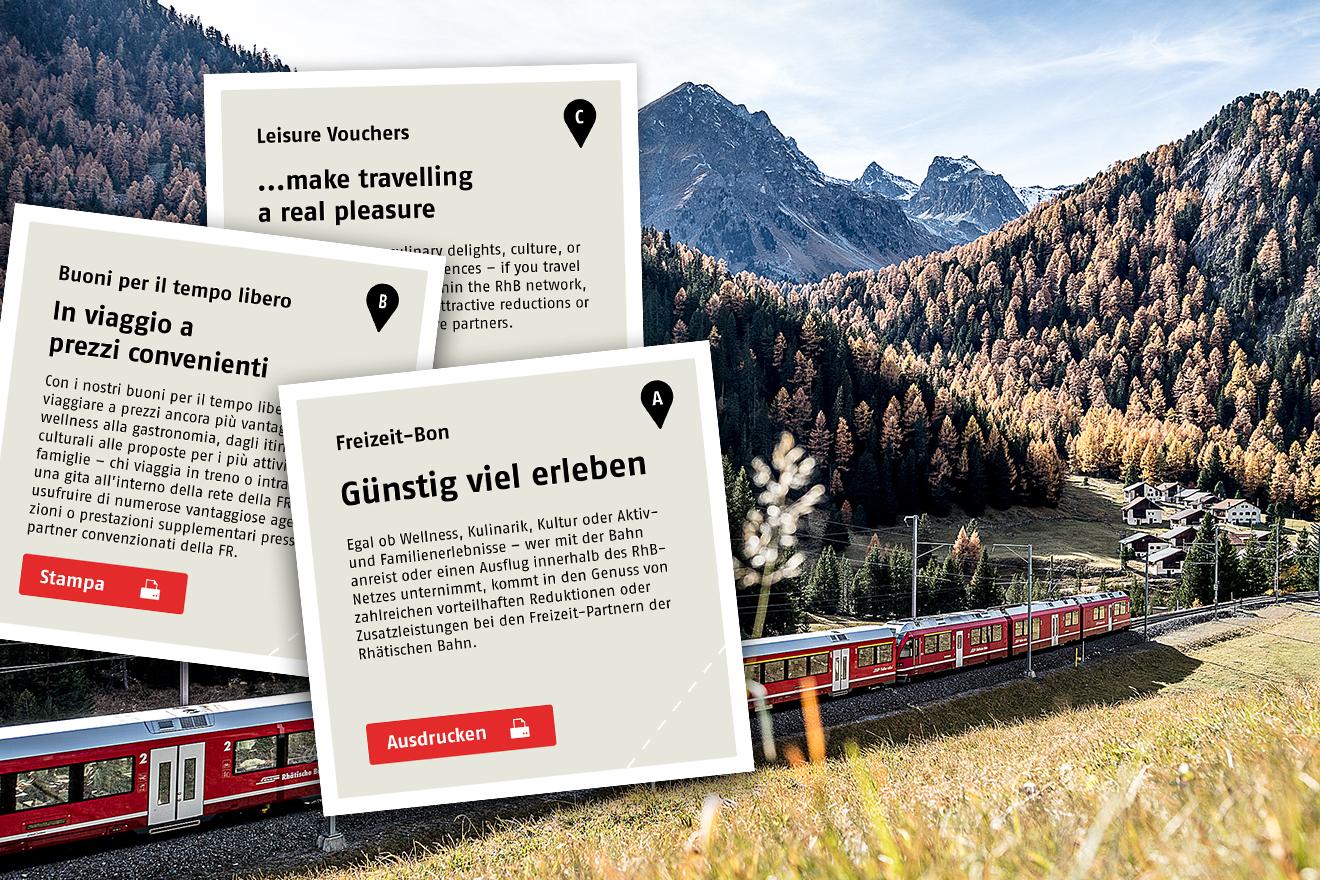 Zizers - Rhaetian Railway RhB - Rhtische Bahn