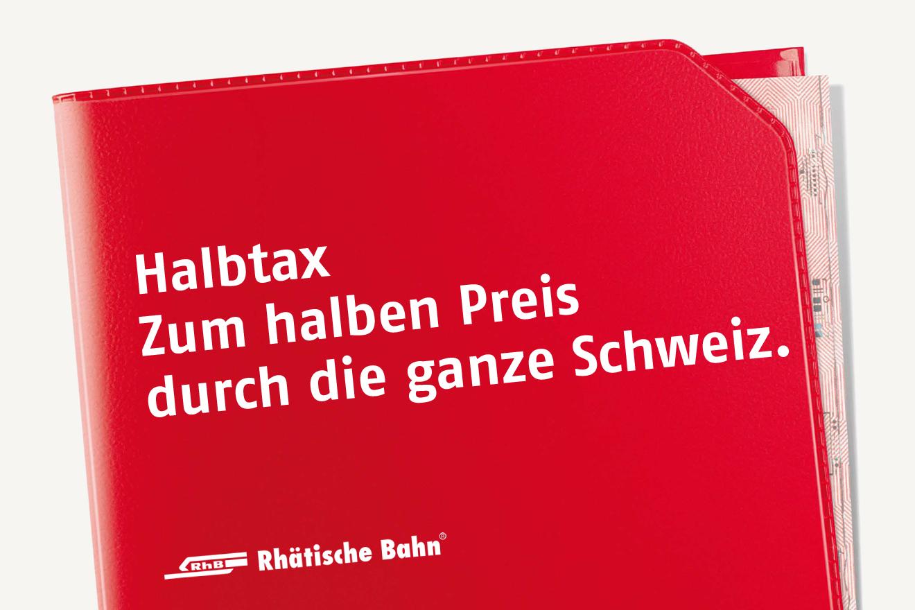 Halbtax Rhatische Bahn Rhb